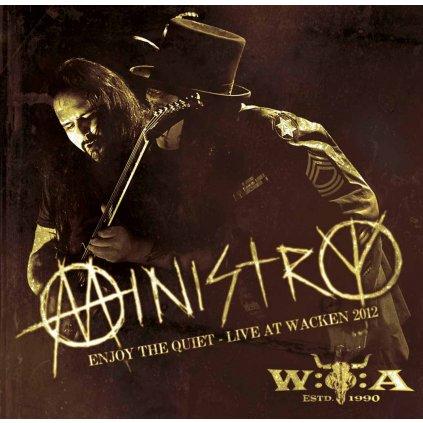 VINYLO.SK | MINISTRY ♫ ENJOY THE QUIET - LIVE AT WACKEN 2012 [CD] 5099961515420