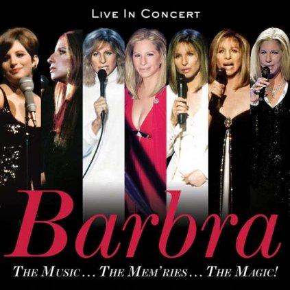VINYLO.SK | STREISAND, BARBRA - THE MUSIC... THE MEM'RIES... THE MAGIC! (LIVE IN CONCERT) [CD]