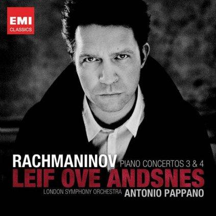 VINYLO.SK | ANDSNES, LEIF OVE ♫ PIANO CONCERTOS NO.3 & NO.4 [CD] 5099964051628