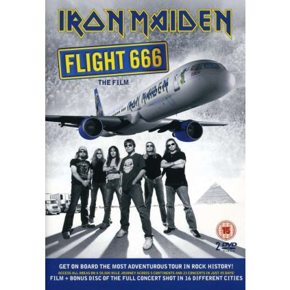 VINYLO.SK | IRON MAIDEN ♫ FLIGHT 666 [2DVD] 5099969775796