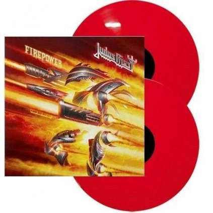 VINYLO.SK | JUDAS PRIEST - FIREPOWER / Limited / Colored / HQ [2LP]
