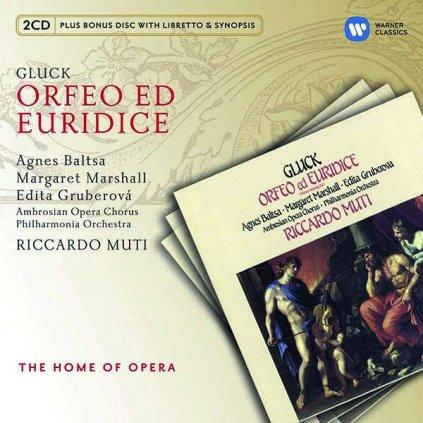 VINYLO.SK | MUTI, RICCARDO ♫ ORFEO ED EURIDICE [3CD] 5099994827026