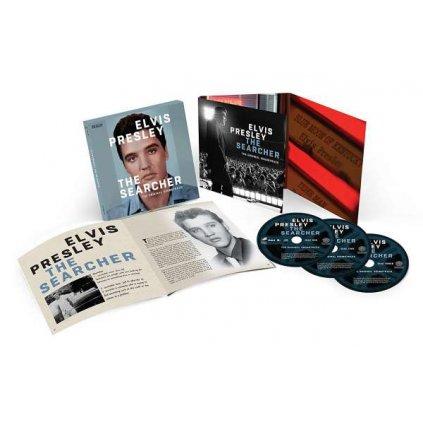 VINYLO.SK | PRESLEY, ELVIS - THE SEARCHER / BOX [3CD]