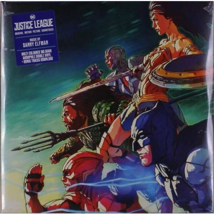 VINYLO.SK | OST - JUSTICE LEAGUE [2LP]