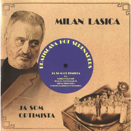 Lasica Milan / BHS ♫ Ja Som Optimista [CD]