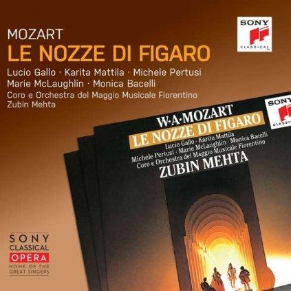 VINYLO.SK | MOZART, W.A. - LE NOZZE DI FIGARO [3CD]
