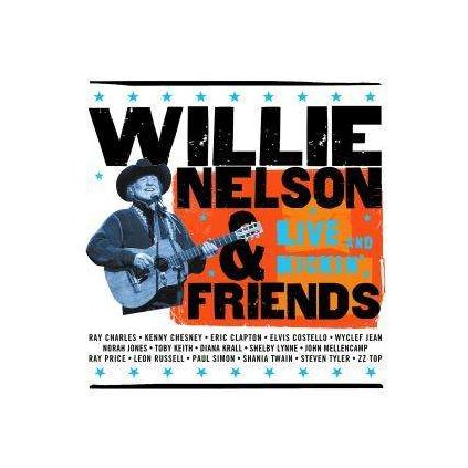 VINYLO.SK | NELSON, WILLIE ♫ LIVE AND KICKIN' [CD] 0008817038629
