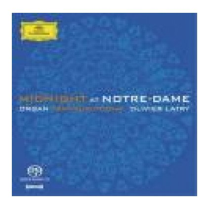VINYLO.SK | LATRY OLIVIER ♫ MIDNIGHT AT NOTRE-DAME - ORGAN TRANSCRIPTIONS [SACD] 0028947481621