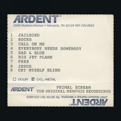 VINYLO.SK | PRIMAL SCREAM - GIVE OUT BUT DON'T GIVE UP (THE ORIGINAL MEMPHIS RECORDINGS) [2CD]