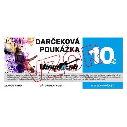VINYLO.SK | Darcekova poukazka 10eur