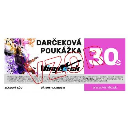 VINYLO.SK | Darcekova poukazka 30eur