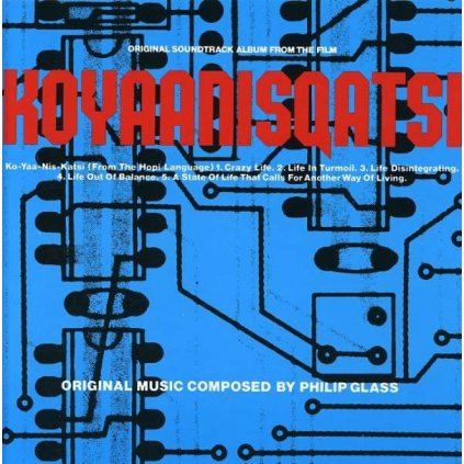 VINYLO.SK | GLASS, PHILIP ♫ KOYAANISQATSI [CD] 0042281404221