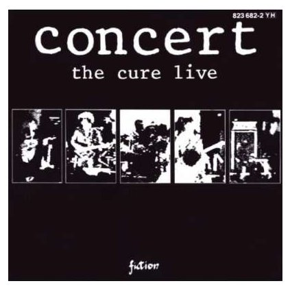 VINYLO.SK | CURE, THE ♫ CONCERT - LIVE [CD] 0042282368225