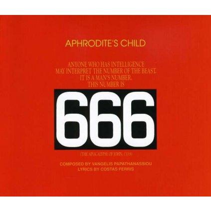 VINYLO.SK | APHRODITE'S CHILD ♫ SECHS SECHS SECHS (666) [2CD] 0042283843028