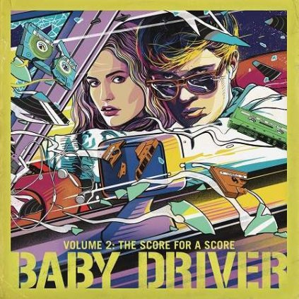 VINYLO.SK | OST - BABY DRIVER VOLUME 2: THE SCORE FOR A SCORE [LP]
