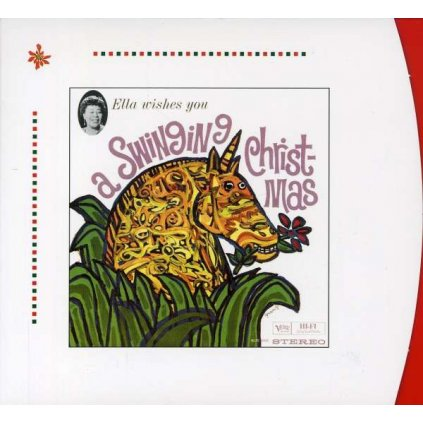 VINYLO.SK | FITZGERALD ELLA ♫ ELLA WISHES YOU A SWINGING CHRISTMAS [CD] 0044006508627