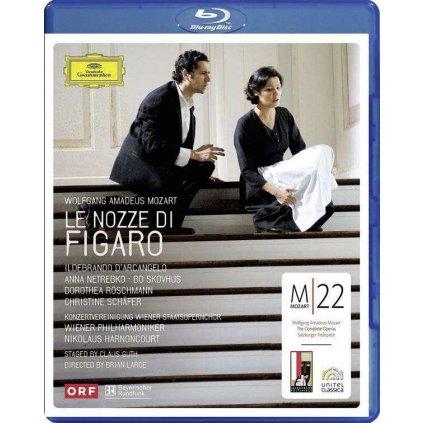 VINYLO.SK   NETREBKO ANNA ♫ LE NOZZE DI FIGARO [Blu-Ray] 0044007344927