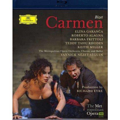 VINYLO.SK | GARANCA / FRITTOLI / ALAGNA ♫ CARMEN [Blu-Ray] 0044007347997