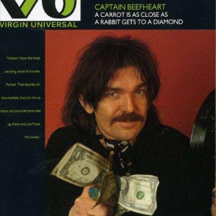 VINYLO.SK   CAPTAIN BEEFHEART ♫ A CARROT IS AS CLOSE AS A RABBIT GETS TO A DIAMOND [CD] 0077778830320