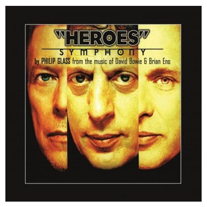 VINYLO.SK | BOWIE, DAVID/PHILIP GLASS - HEROES SYMPHONY (LP)180GR./INSERT/PVC/FROM THE MUSIC OF DAVID BOWIE & ENO
