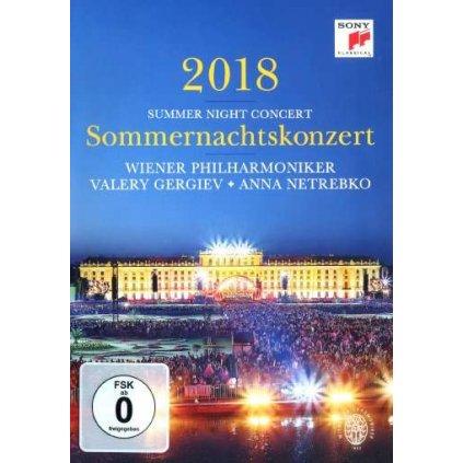 VINYLO.SK | WIENER PHILHARMONIKER - SOMMERNACHTSKONZERT 2018 [DVD]