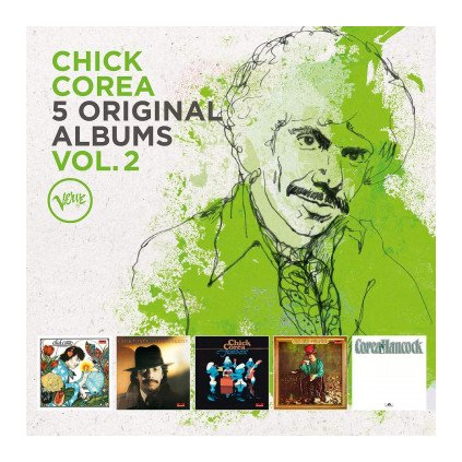 VINYLO.SK | COREA, CHICK ♫ 5 ORIGINAL ALBUMS, VOL. 2 [5CD] 0600753891261