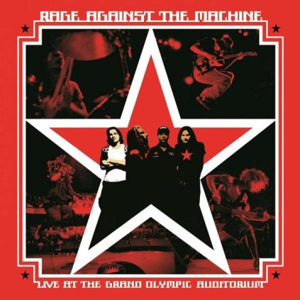 VINYLO.SK | RAGE AGAINST THE MACHINE - LIVE AT THE GRAND OLYMPIC AUDITORIUM [2LP]