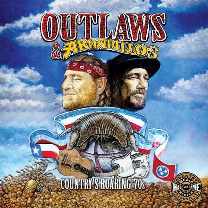VINYLO.SK   Rôzni interpreti - OUTLAWS & ARMADILLOS: COUNTRY'S ROARING '70S [LP]