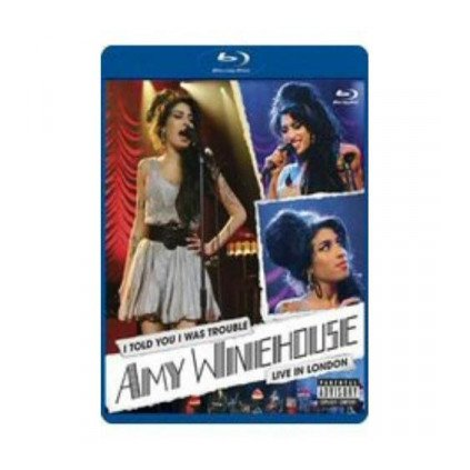 VINYLO.SK | WINEHOUSE AMY ♫ I TOLD YOU I WAS TROUBLE - LIVE IN LONDON [Blu-Ray] 0602517799622