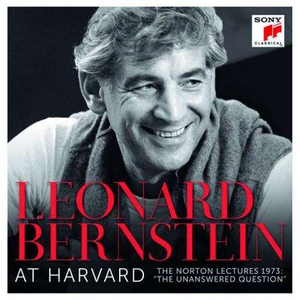 """VINYLO.SK   BERNSTEIN, LEONARD - LEONARD BERNSTEIN AT HARVARD - THE NORTON LECTURES 1973 """"THE UNANSWERED QUESTION"""" / BOX [13CD]"""