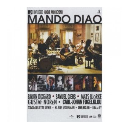 VINYLO.SK | MANDO DIAO ♫ MTV UNPLUGGED - ABOVE AND BEYOND [DVD] 0602527556857