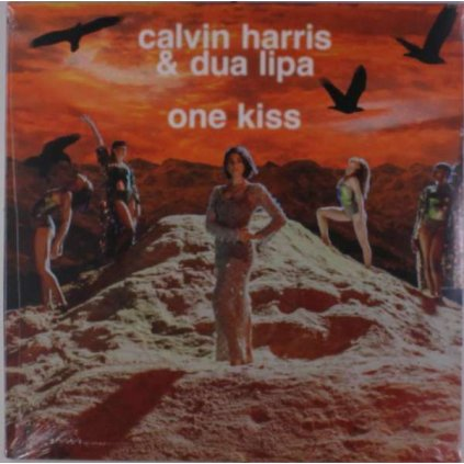 "VINYLO.SK | HARRIS, CALVIN / DUA LIPA - ONE KISS / PICTURE DISC [EP12"" Maxi]"