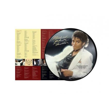 VINYLO.SK | JACKSON, MICHAEL - THRILLER / PICTURE DISC [LP]