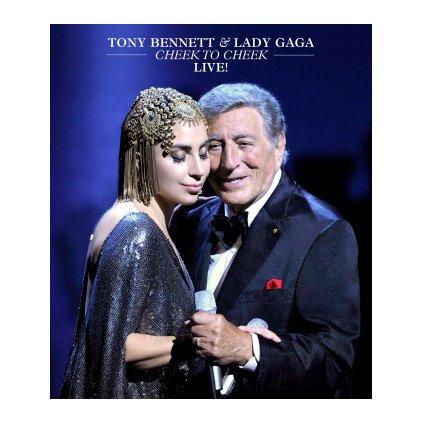 VINYLO.SK | LADY GAGA / TONY BENNETT ♫ CHEEK TO CHEEK - LIVE [Blu-Ray] 0602547123923