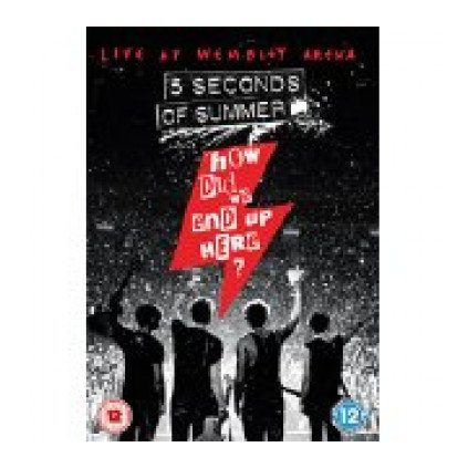 VINYLO.SK | 5 SECONDS OF SUMMER ♫ HOW DID WE END UP HERE? 5 SECONDS OF SUMMER LIVE AT WEMBLEY ARENA [DVD] 0602547567536