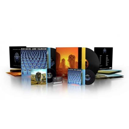 VINYLO.SK | JARRE, JEAN-MICHEL - EQUINOXE INFINITY / Limited [4CD]