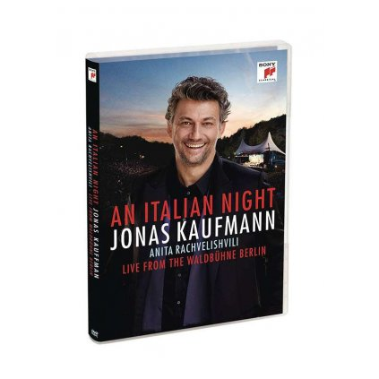 VINYLO.SK | KAUFMANN, JONAS - AN ITALIAN NIGHT - LIVE FROM THE WALDBUHNE BERLIN -LIVE- [DVD]