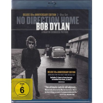 VINYLO.SK | DYLAN BOB / SCORSESE MARTIN ♫ NO DIRECTION HOME: BOB DYLAN [Blu-Ray] 0602557072242