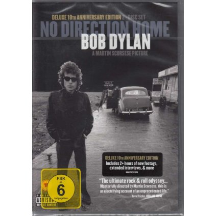 VINYLO.SK | DYLAN BOB / SCORSESE MARTIN ♫ NO DIRECTION HOME: BOB DYLAN [DVD] 0602557072259