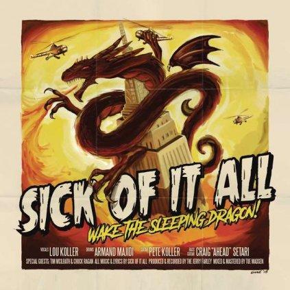 VINYLO.SK | SICK OF IT ALL - WAKE THE SLEEPING DRAGON! [CD]