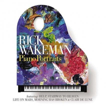 VINYLO.SK | WAKEMAN, RICK ♫ PIANO PORTRAITS [2LP] 0602557279726