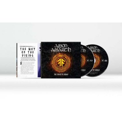 VINYLO.SK | AMON AMARTH - THE PURSUIT OF VIKINGS (25 YEARS IN THE EYE OF THE STORM) [CD + Blu-Ray]