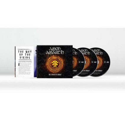 VINYLO.SK | AMON AMARTH - THE PURSUIT OF VIKINGS (25 YEARS IN THE EYE OF THE STORM) [CD + 2DVD]