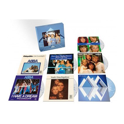 "VINYLO.SK | ABBA ♫ VOULEZ-VOUS - THE SINGLES / Limited / BOX SET [7SP7"" Single] 0602577309182"