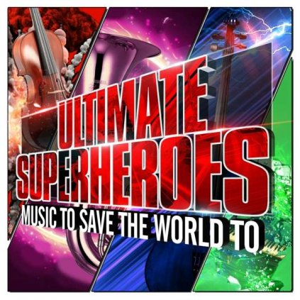 VINYLO.SK | ZIEGLER, ROBERT - ULTIMATE SUPERHEROES [CD]