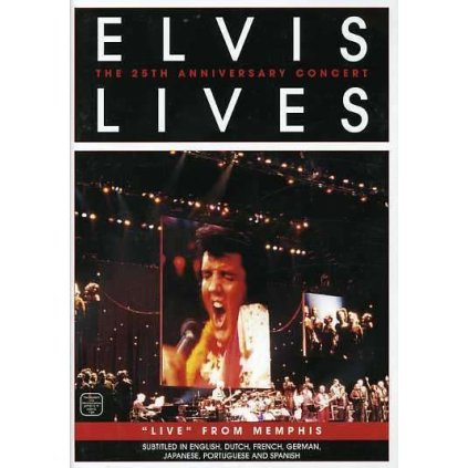 VINYLO.SK | PRESLEY, ELVIS ♫ HE LIVES / 25TH ANNIVERSARY CONCERT FROM MEMPHIS / 25th Anniversary [DVD] 0617884476199