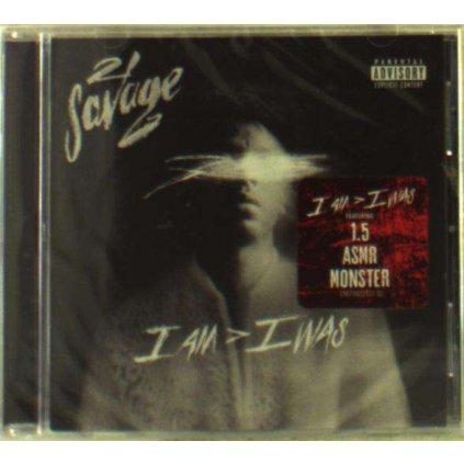VINYLO.SK | 21 SAVAGE - I AM > I WAS [CD]