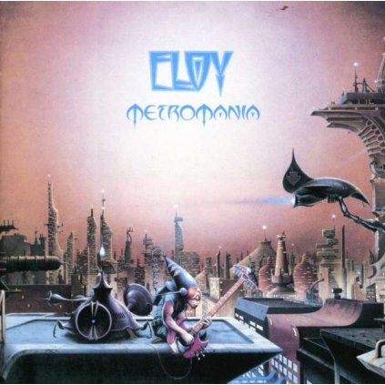 VINYLO.SK   ELOY ♫ METROMANIA [CD] 0724356377929