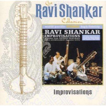 VINYLO.SK | SHANKAR RAVI ♫ IMPROVISATIONS [CD] 0724356704923