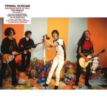 VINYLO.SK | PRIMAL SCREAM - MAXIMUM ROCK 'N' ROLL - THE SINGLES VOL. 2 (2000-2016) / HQ [2LP]